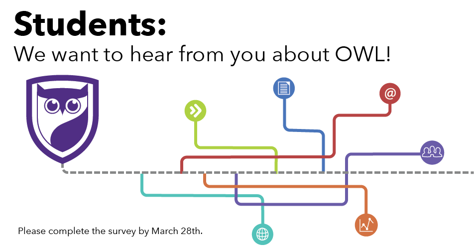 Students, we want to hear from you about OWL